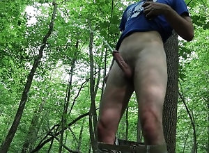 public;outside;piss;pissing;hardon;boner;woods;outdoor;handfree;curved;cock,Fetish;Solo Male;Gay;Public;Amateur;Jock Pissing in the woods