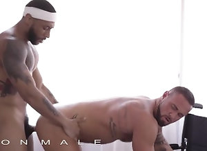 iconmale;porhub;pornohub;mgvideos;icone-male;hunk;bbc;muscle;interracial;blowjob;rimming;ass-licking;man-pussy;anal;doggystyle;protected-sex,Blowjob;Pornstar;Gay;Interracial;Hunks,Michael Roman Icon Male - BBC...