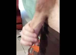 stroking;soft;hard;cock,Solo Male;Big Dick;Gay;Amateur;Uncut;Verified Amateurs Stroking my cock...