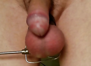 Men (Gay);HD Gays;Pulled;Kitchen Foreskin pulled...