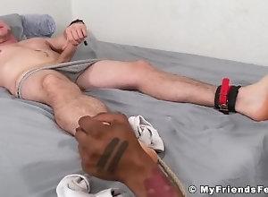 myfriendsfeet;feet;foot-fetish;fetish;hunk;worship;toes;black;muscle;cumshot;masturbation;toe-licking;toe-sucking;sole-licking;pierce,Black;Muscle;Big Dick;Gay;Interracial;Hunks;Cumshot;Feet Bound gay jerks...