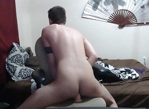 ass-fuck;masturbate;adult-toys;anal;dildo;cumshot;cum-inside-me;cum-in-ass;moaning;dirty-talk,Solo Male;Gay Riding my dildo...