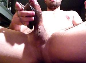 edging;precum;precum-dripping;veiny-cock;vibrator-torture;toys;vibrator,Muscle;Solo Male;Big Dick;Gay;Hunks;Straight Guys;Jock;Cumshot;Verified Amateurs cock wont stop...