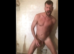 dildo;guy-jacking-off,Fetish;Solo Male;Gay;Amateur;Verified Amateurs FAGGOT FUCKS HIS...