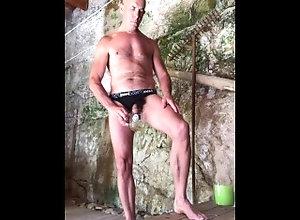 piss;cum,Fetish;Solo Male;Gay;Mature;Cumshot;Verified Amateurs piss cum drinking