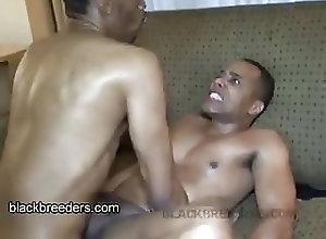 Black Gays (Gay);Bareback (Gay);Big Cocks (Gay);Muscle (Gay);Black Breeders (Gay) Cum on the Couch!