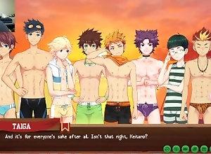 yaoi;visual-novel;camp-buddy,Bareback;Twink;Gay;Amateur;Handjob;Jock;Cumshot;Cartoon Yoichi-senpai!!! ...