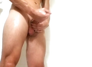 lance;weber;solo;male;shower;play;jacking;off;masturbation;bisexual;cumshot;gay;sexy;male;jock;bathroom;blonde;big;dick;fit,Solo Male;Gay Horny jock gets...