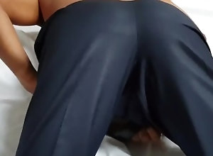 suit-fitting;butt,Fetish;Solo Male;Gay;Interracial;Amateur Butt Reveal in...