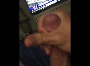 cumshot;big-white-cock,Solo Male;Gay BWC yummy cumshot
