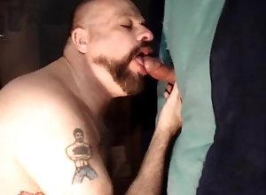 big-cock;daddy;sucking-hung-cock;cum;hairy;bald;tattoo;gloryhole-swallow;amateur;beard;cock-sucker;head;mature-amateur;anonymous;grindr-hookup,Daddy;Blowjob;Big Dick;Gay;Amateur;Mature;Cumshot;Verified Amateurs GH#4 Hung Cut...