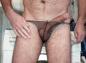 cum-control;cumshot;orgasm;masturbation;handjob;hand-free-orgasm;hand-free;multiple-orgasm;multiple-cumshots;multiple-creampie;more-sperm;sheer-panties;sheer-string;transparent;transparent-panties;erotic-panties,Solo Male;Gay Triple cumshot...