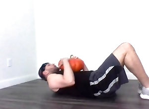 latin;squats;bicep-curls;athletic;tanktop;sweaty;scruffy-guy;flexing;teasing;tied-up;nice-butt;halloween;bondage;gagged;hairy-armpits;nice-chest,Latino;Fetish;Solo Male;Gay;Hunks;Straight Guys;Jock;Verified Amateurs Pumpkin Workout...