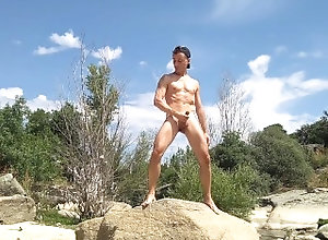 masturbate;big-cock;public;outside;cumshot;massive-cumshot;outdoor-masturbation;outdoor-amateur;outdoor-cumshot;outdoor-public,Solo Male;Gay I'm outdoor...
