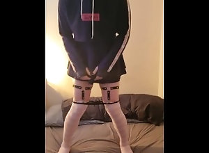 femboy;femboi;sissy;bisexual;crossdresser-anal;cross;sissy-crossdress;skirt;short-skirt,Solo Male;Gay Femboy plays with...