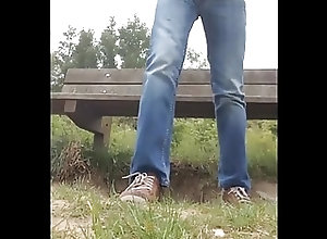 Outdoor (Gay);Park Bench;In the Park;Bench;Park bench in the park