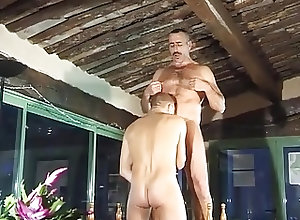 Old+Young (Gay);In the Garden;Garden;Horny Fucking;Fucking Horny gay dudes...