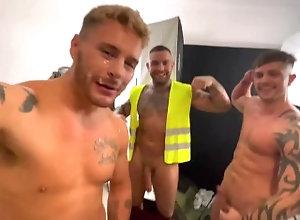straight-guy;builder;bukkake;cum-face;cum-slut;big-cock;european,Euro;Big Dick;Pornstar;Group;Gay;Straight Guys;Amateur;Uncut;Cumshot;Tattooed Men,Josh Moore THREE STRAIGHT...