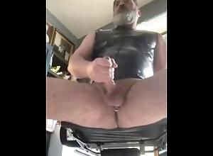 big-cock;jo;latex;jack-off;daddy,Daddy;Solo Male;Big Dick;Pornstar;Gay;Cumshot,Kristofer Weston J/O Daddy
