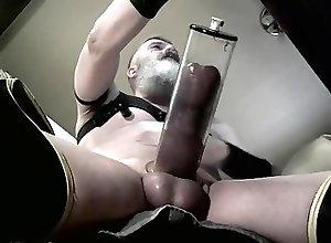 Men (Gay) Horny Pump on Desk