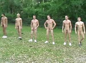 ladscamp;twinks;nude;outdoor;european;public;outside,Euro;Twink;Group;Gay;Public Several twinks...