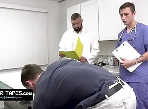 doctortapes;marco-napoli;jay-tee;cole-church;gay;threesome;patient;anal;gay-porn;doctor;hospital;office;creampie;clinic;robe;examination,Bareback;Blowjob;Big Dick;Group;Gay;Hunks;Creampie;Handjob;Cumshot Fit Boy Goes For...