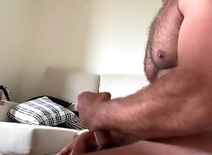 wanking;at;home;uncut;and;horny;hairy;daddy,Solo Male;Gay;Verified Amateurs Bored at home