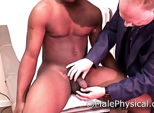 malephysical;straight;black;doctor;medical;exam;examination;prostate;visit;clinic;handjob;cock;cum;public;outside,Black;Muscle;Gay;Public;Reality;Handjob;Jock Straight Male...