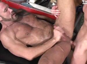 bear;gay;hairy,Big Dick;Gay;Bear Two bears fuck