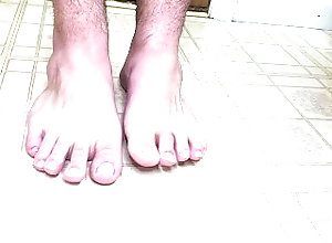 feet;syrup;food;tasty;kink,Solo Male;Gay Dripping some...