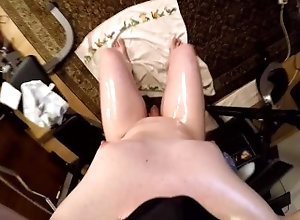 kink;masturbate;full-shaved-body;oiled-up;phimosis;small-dick;manboobs;cumshot;fapping;caressing;smooth-skin;oil;lotion;pov,Solo Male;Gay Tobi Full Shaved...