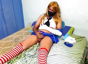latin;crossdresser;femboy;masturbation;shimakaze-cosplay,Twink;Latino;Solo Male;Gay;Handjob;Uncut;Cumshot;Verified Amateurs Mi primer video -...