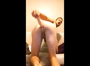 ass-fuck;masturbate;adult-toys;butt;big-cock,Solo Male;Gay Anal Plunge